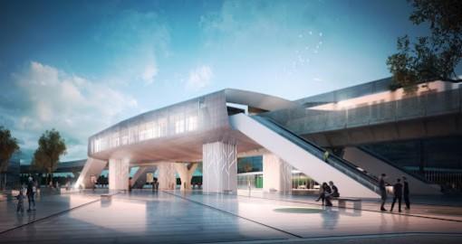 Station métro Cesson- Via Silva - ouverture reportée début 2022