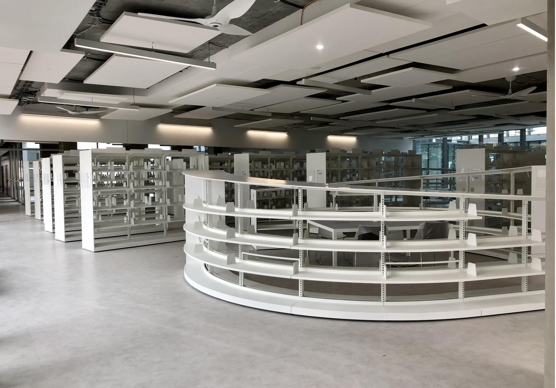 Espace bibliothèque -Université Condorcet
